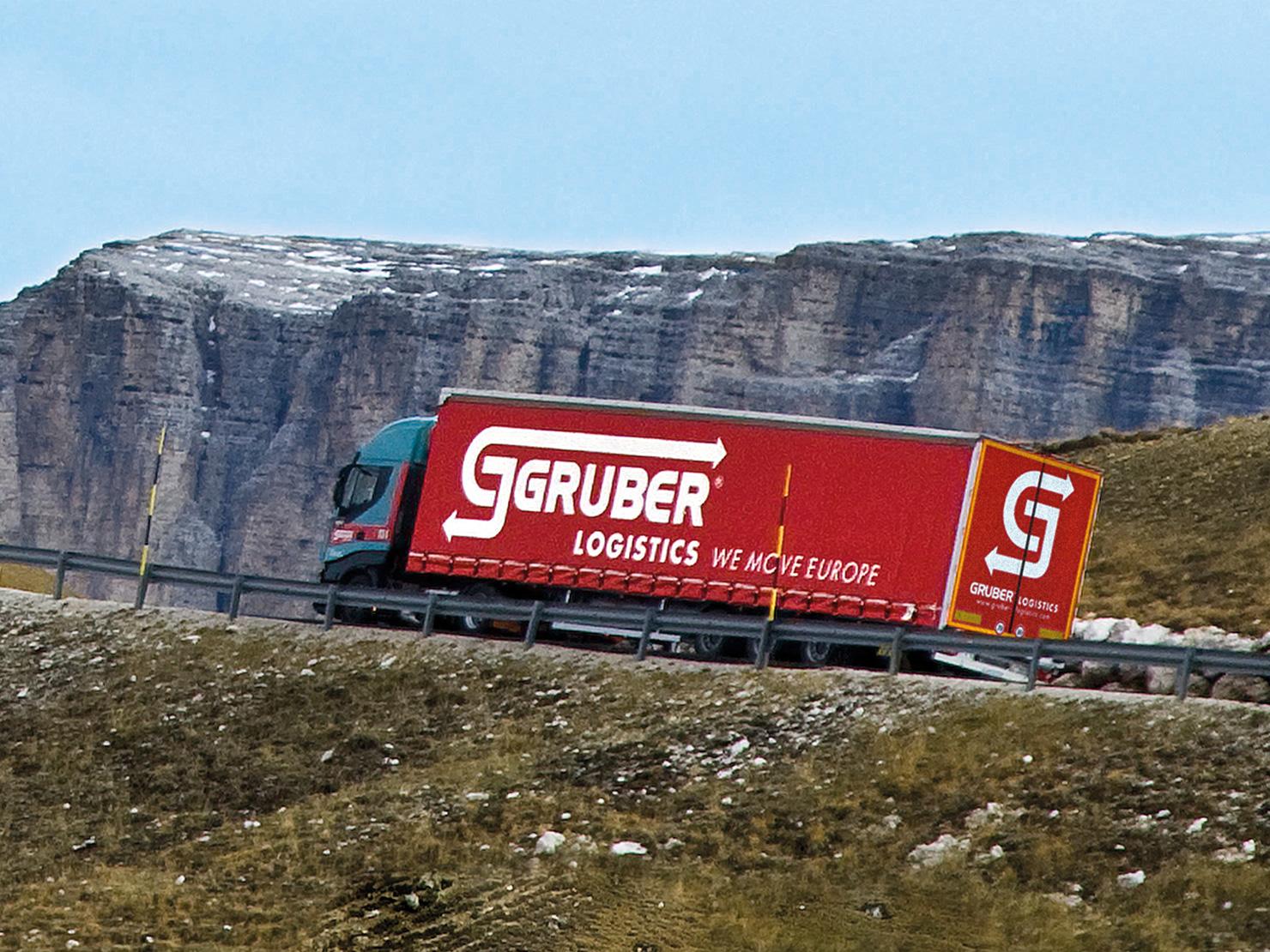 Gruber Logistics.